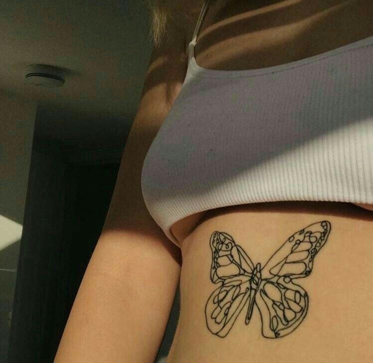 15 Simple Butterfly Tattoo Ideas
